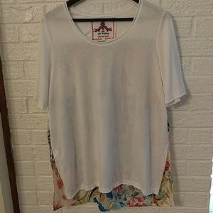Johnny Was T-shirt Tunic (M)
